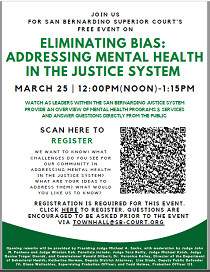 Eliminating Bias Flyer